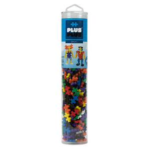 PLUS PLUS Open Play Tube - 240pc Basic Mix