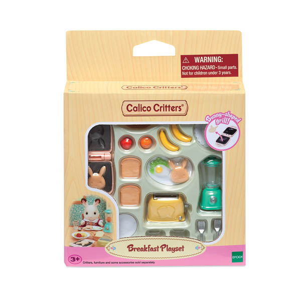 Breakfast Playset (Calico Critters)