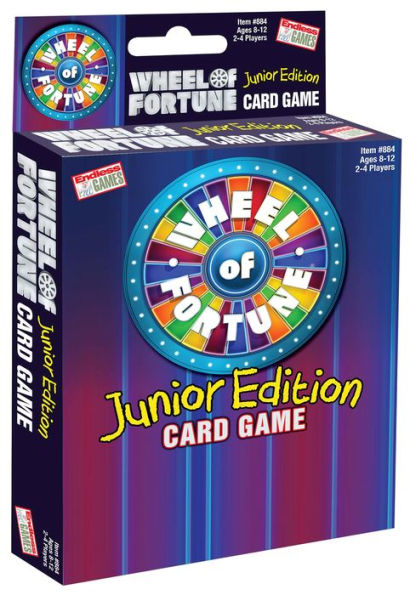 Wheel of Fortune Junior Edition Card Game