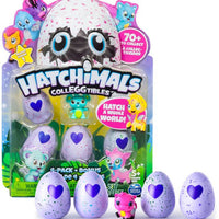 Hatchimals CollEGGtibles 4pk + Bonus (Styles & Colors May Vary)