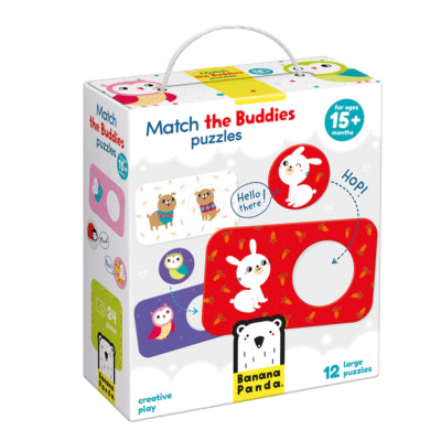 Banana Panda Match the Buddies  Puzzles