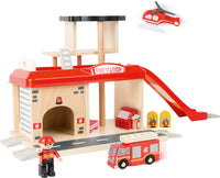 Fire Station with Accessories