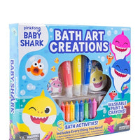 Baby Shark Bath Art Creations