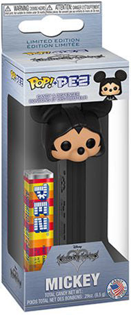 Organization XIII Mickey King or Hearts PEZ
