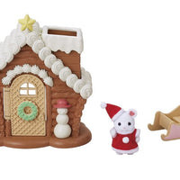 Calico Critters Gingerbread Playhouse Limited Edition