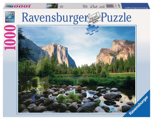 Yosemite Valley 1000 Piece Puzzle
