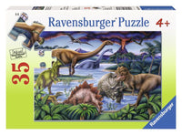 Dinosaur Playground 35pc puzzle By Ravensburger