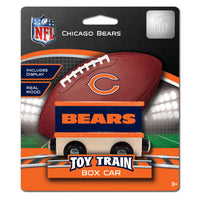 CHICAGO BEARS NFL BOX CAR TRAINS