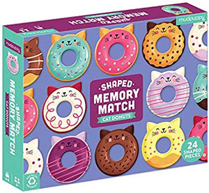 Cat Donuts Shaped Memory Match