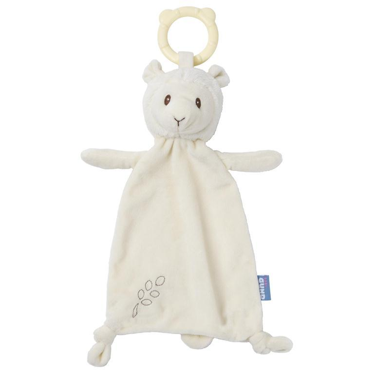 babyGUND Toothpick Teether Lovey Liam Llama