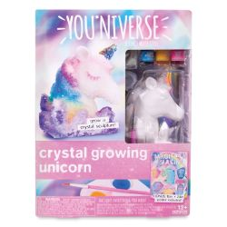 Youniverse Create Your Own 3D Crystal Growing Unicorn