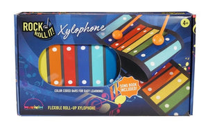 ROCK AND ROLL IT! Flexible Roll Up Xylophone