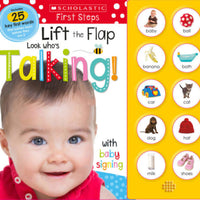 Scholastic Early Learners: Lift the Flap: Look Who's Talking