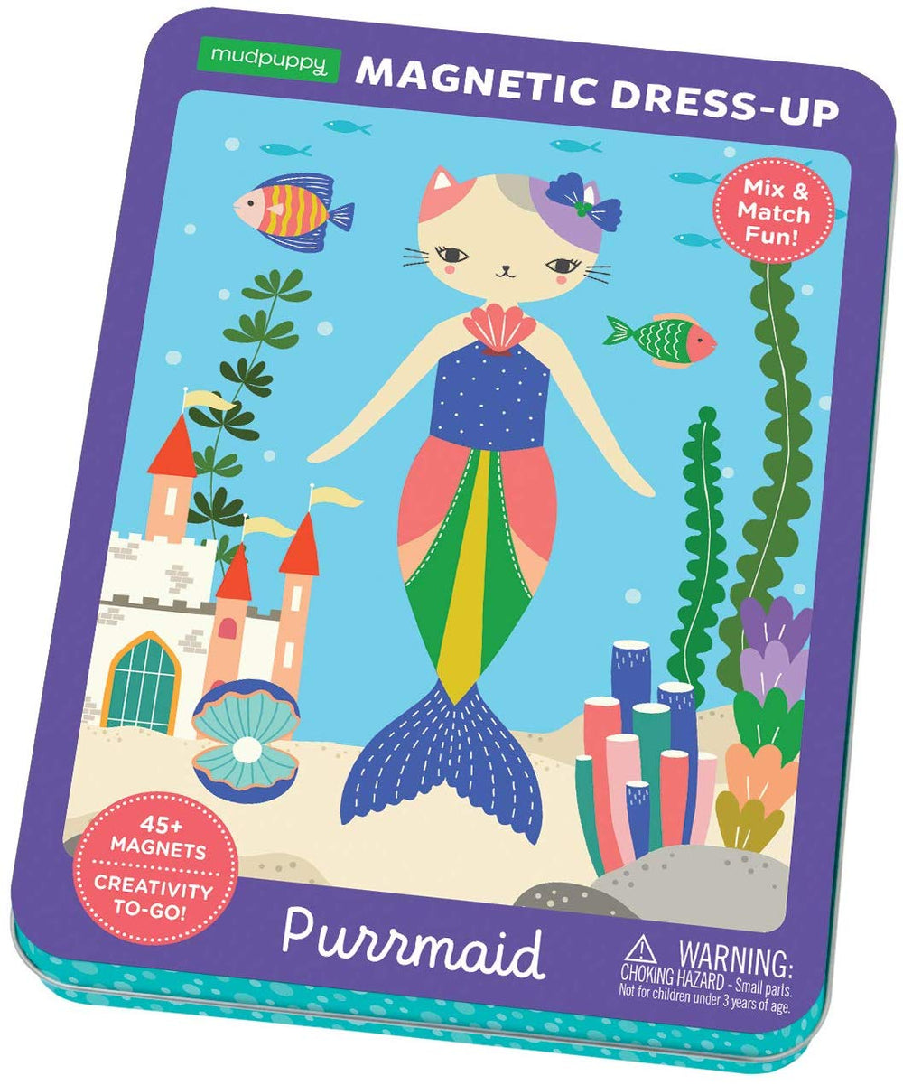 Purrmaid Magnetic Dress-Up
