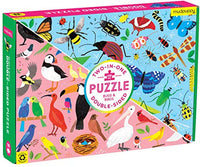 Bugs & Birds 100 Piece Double-Sided Puzzle