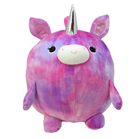 Kids Preferred Cuddle Pals - Luna The Unicorn - Round Huggables - Stuffed Animal Plush 11.5 Inches