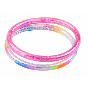 GLITTER BANGLE SET (2 PCS)