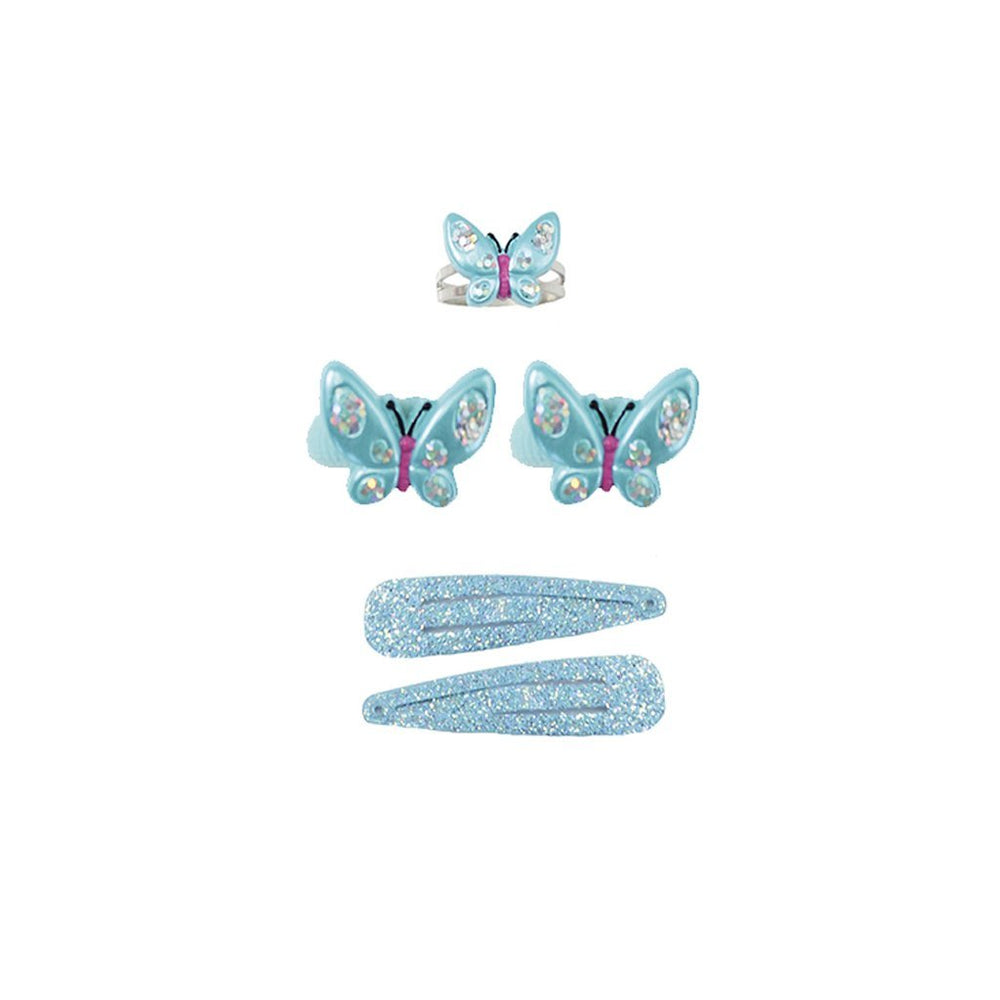 WING AND WIGGLE RING AND HAIR SET 5PC SET