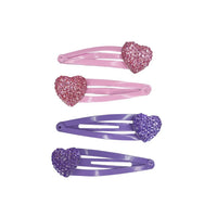 SPARKLY MY HEART HAIRCLIPS