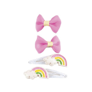 SNAP HAPPY RAIN-BOW CLIPS