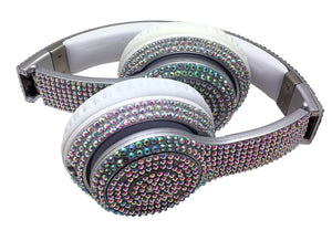 Fashion BLING Bluetooth Foldable Stereo Headphones
