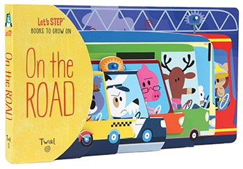 On The Road (Let's STEP Books to Grow On) Board Book