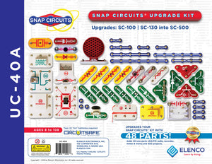Snap Circuits® Upgrade Kit SC100/SC130 into SC500