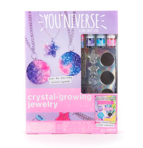 YOU*niverse Crystal Growing Jewelry Kit