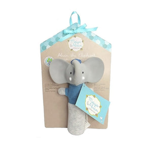 Alvin the Elephant Squeaker on Backer Card