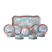 Unicorn Tin Tea Set