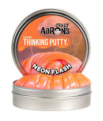 MINI TIN NEON FLASH ELECTRIC THINKING PUTTY