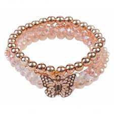 BLUSH CRUSH BRACELET SET