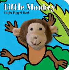 Little Monkey: Finger Puppet Book
