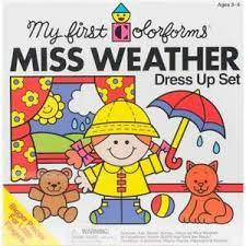 Miss Weather Colorforms Dress Up Set