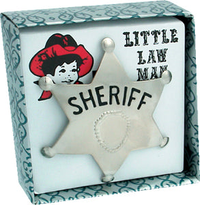 Law Man Badge SHERIFF
