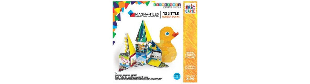 Magna-Tiles 10 Little Rubber Ducks, By Eric Carle