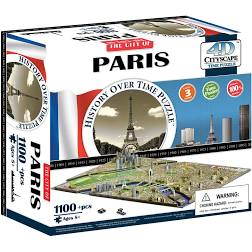 Paris - 1100 pc 4D Cityscape  Jigsaw Puzzle