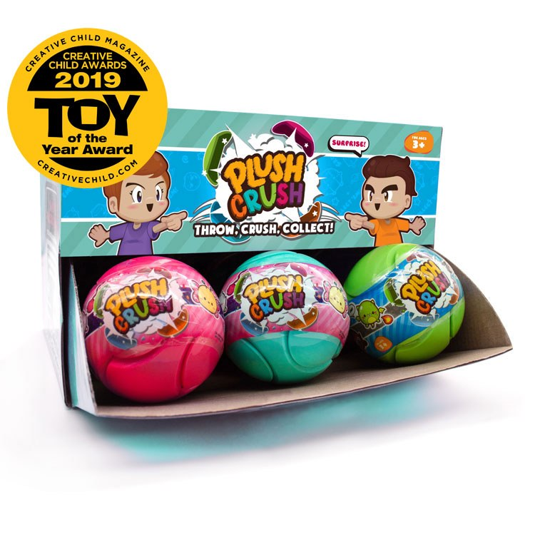 PLUSH CRUSH BALL