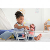 "Corolle High Chair for 14"" / 17"" baby doll"