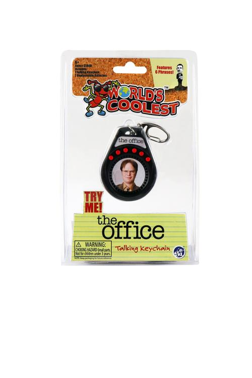 World's Coolest The Office Dwight Talking Keychain