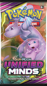 Pokémon TCG: Sun & Moon Unified Minds - Pack
