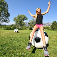 "4 Fun 30"" Inflatable Jumbo Soccer Ball"