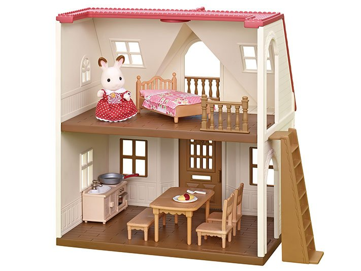 Calico Critters Red Roof Cozy Cottage Starter Home