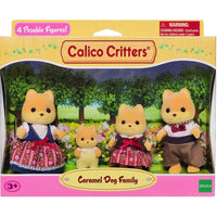Calico Critters Carmel Dog Family