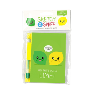 Sketch & Sniff Note Pad