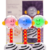 SmartNoggin NogginStik Developmental Light up Rattle