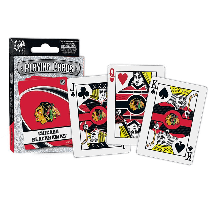 NHL Playing Cards Chicago Blackhawks