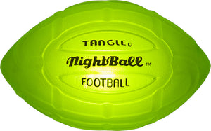 NightBall® Football - Large - Green
