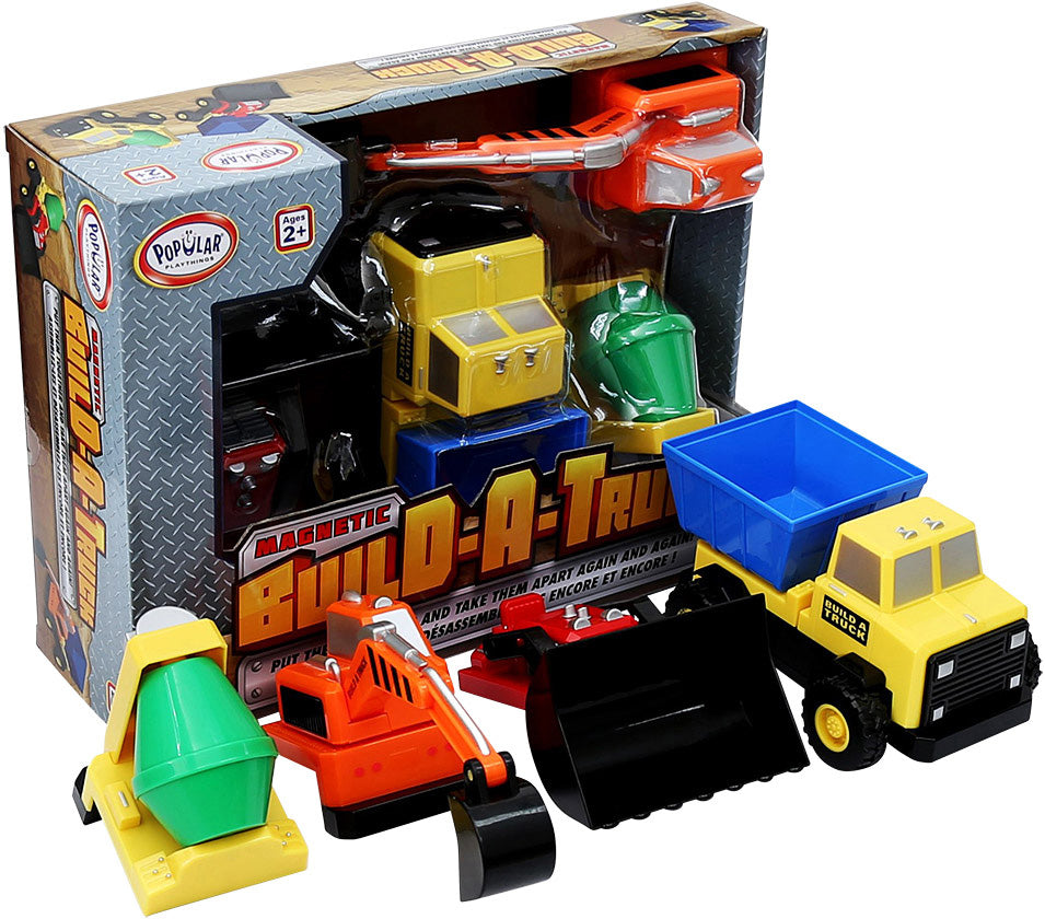 Magnetic Build-A-Truck - Construction