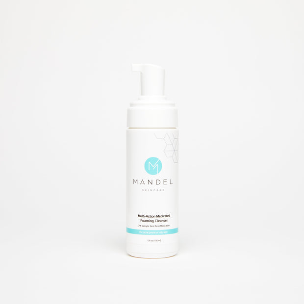 Mandel Skincare Multi-Action Medicated Foaming Cleanser for acne-prone or oily skin